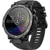 Smartwatch Orologio Fitness Uomo Donna Bambini Impermeabile IP68 Smart Watch Cardiofrequenzimetro da polso Contapassi…