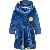 Taigood Albornoz niños niñas con Capucha Batas niño Suave Pijamas Ropa de Dormir niños