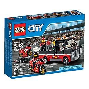 LEGO City Great Vehicles Racing Bike Transporter