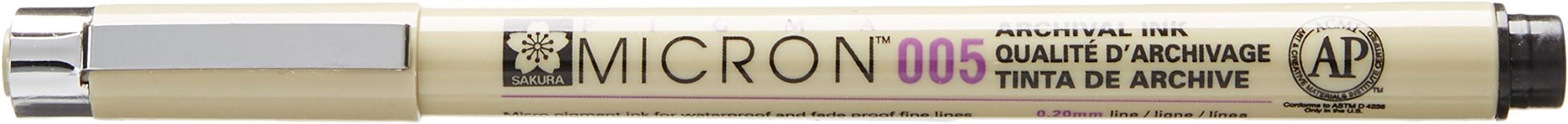 Pigma MICRON Fineliner, schwarz, 0.2mm (Nr.005)