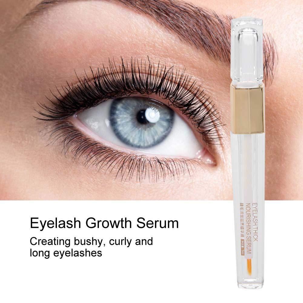 Sérum para el crecimiento de pestañas, pestañas más gruesas y más rizadas, maquillaje para el cuidado de los ojos…