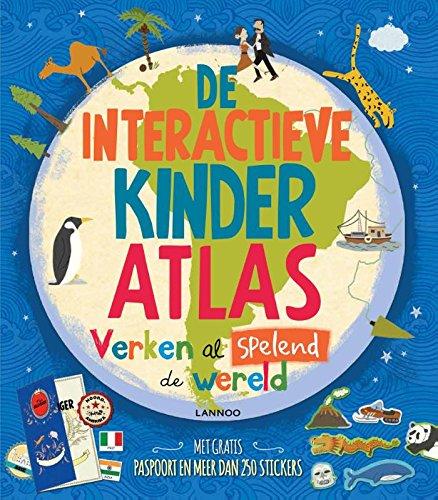 De interactieve kinderatlas: verken al spelend de wereld