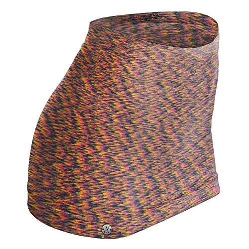 kidneykaren Nierenwärmer Basic- Tube Multifunktion Yogagurt Fitness & Freizeit Orange Space (mehrfarbig), Größe:XL -
