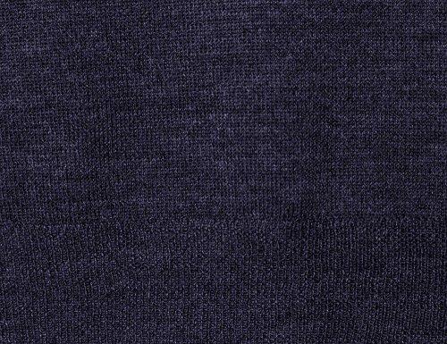 STRENESSE Messieurs Pull-over col roulé Collection d'hiver bleu foncé