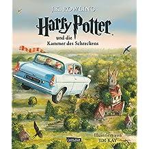 Harry Potter und die Kammer des Schreckens (vierfarbig illustrierte Schmuckausgabe) (Harry Potter 2)