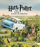 Harry Potter und die Kammer des Schreckens (vierfarbig illustrierte Schmuckausgabe) (Harry Potter 2) - J.K. Rowling
