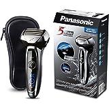 Panasonic ES-LV65-S803 Rasoio Elettrico da Barba Wet&Dry, Senza Fili, Ricaricabile, Testina Flex, 5 Lame a 30°, Silver