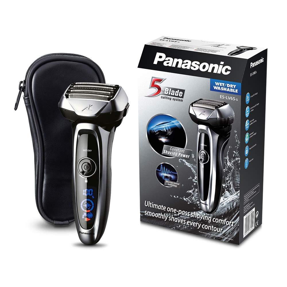 Panasonic ES-LV65 Folienrasierer, Nass/Trockenrasierer, Shaver, Reiseetui