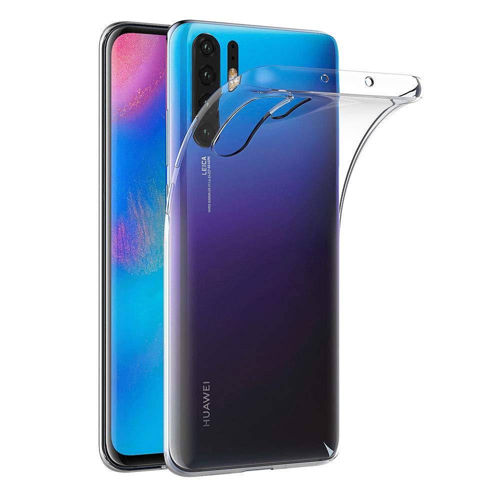 591446181c1 AICEK Funda Huawei P30 Pro, Transparente Silicona Fundas para Huawei P30  Pro Carcasa Silicona Funda Case