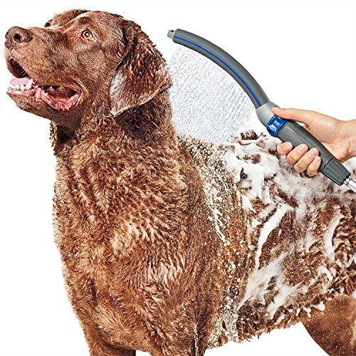 Waterpik PPR-252UK - Soporte de ducha para mascotas (interior y exterior), color gris