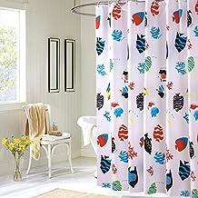 El moho impermeable acolchado paño de cortina de baño poliester baño ducha/Cortinas añadir al plomo-B