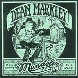 Dean Markley 2402 Jeu de cordes pour mandoline PhosBronze Tirant light .011 .037 (Import Royaume Uni)