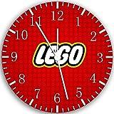 Ikea Lego Z063 Wanduhr, 25,4 cm