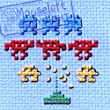 Mouseloft Mini Cross Stitch Kit - Space Invaders, Stitchlets Collection
