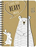 Brunnen 1072963148 Schülerkalender Beary (1 Tag in 1 Seite, August 2017 bis Juli 2018)