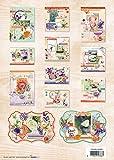 So Spring - 3D Stanzblock - 21 x 29,7 cm - Zur Gestaltung von 12 Karten