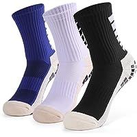 Festnight Football Socks, Anti-slip Sport Sock for Men Women - 3 Pairs Breathable Aheletic Socks for Football Basketball…