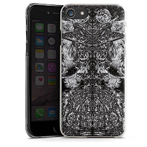 Apple iPhone X Silikon Hülle Case Schutzhülle Ornamente Thomas Hanisch Muster Hard Case transparent