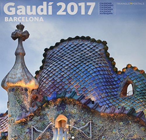 Calendari 2017 Gaudí 1 gran (batlló) por Aa.Vv.