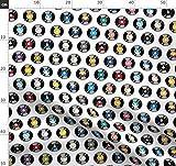 Musik, Vintage, 70Er Jahre, 80Er Jahre, Retro, Punktmuster,