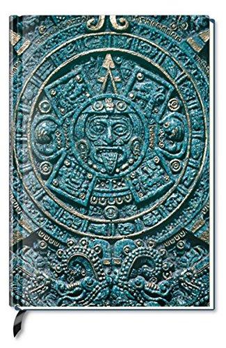 Notizbuch - liniert - Aztec Calendar
