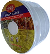Enterprise Plastic Sprout Maker (Transparent, Medium)