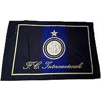 BANDIERONE Inter Ufficiale Bandiera Grande cm. 140 x 210 F.C.Internazionale Flag