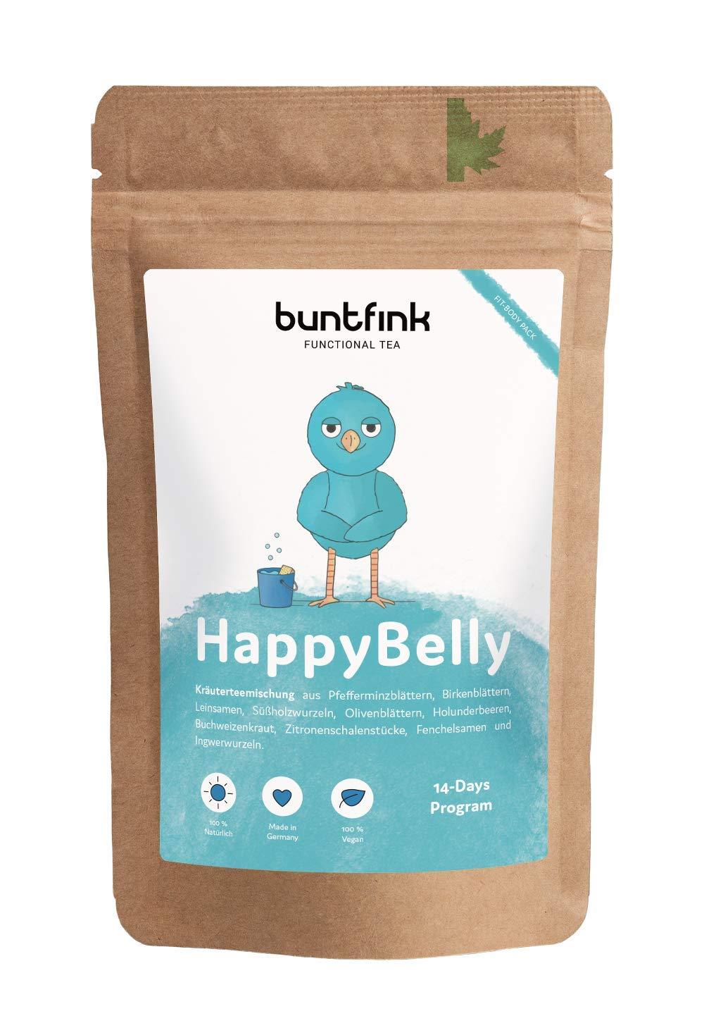 HappyBelly-Tee-mit-Leinsamen-Pfefferminztee-Ingwer-Holunder-14-Tage-Programm-100-natrlicher-Krutertee-aus-Deutschland-60g-loser-Tee