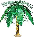KULTFAKTOR GmbH Tischdeko Hawaii Palme grün-braun 46cm Einheitsgröße