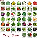 Kraft seeds 45 Varieties of Vegetable Seeds