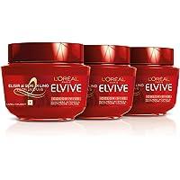 Elvive L'Oréal Paris Elvive Maschera Protettiva per Capelli Colorati Color-Vive, 300 ml, 3 Confezioni da 6 unità