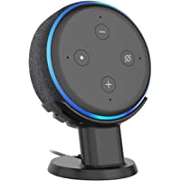 Cozycase Cleaner Tidier Appearance Solution Pedestal Desk Mount Holder Stand and Improves Sound Visibility for Dot 3rd Gen (Black)