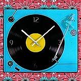 Reloj de Pared Tocadiscos