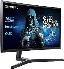 Samsung C27FG73 68,6 cm (27 Zoll) Monitor (HDMI, 1ms Reaktionszeit) schwarz