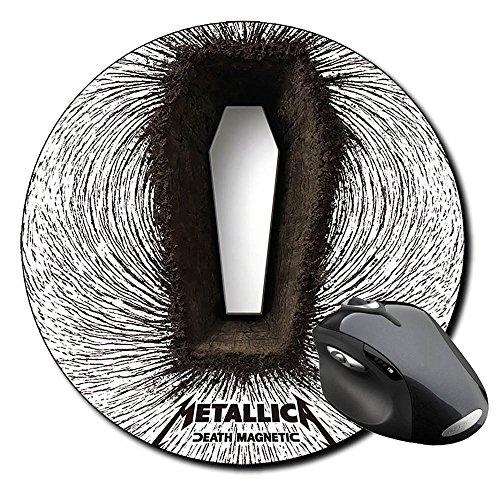 Preisvergleich Produktbild Metallica Death Magnetic B Badteppich rund Round Mousepad PC