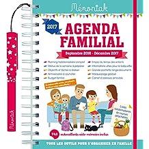 Agenda familial Mémoniak 2016-2017