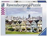 Ravensburger Painted Ladies, San Francisco 1000pieza(s) - Rompecabezas (San Francisco, Jigsaw Puzzle, Ciudad, San Francisco, 14 año(s), 700 mm, 500 mm)