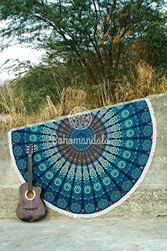 tapisserie-decorative-ethnique-multi-color-bloc-imprime-floral-indien-tapisserie-main-nappe-70-round
