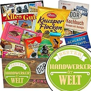 Bester Handwerker Schokoladen Paket Geschenk Ideen Bester Handwerker Schokoladenbox Richtfest Handwerker Geschenke Inkl Ddr Kochbuch