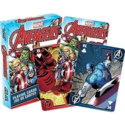 Aquarius Marvel Comics de Los Vengadores Juego de cartas