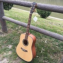 GFEI FOLK GUITAR _ pension completa de abeto madera caoba sapeli 105cm alta calidad única guitarra folk