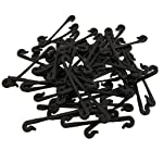 ASASOUYV Vines Tied Buckles Fixed Strapping Clips Fastener Lashing Hook for Garden 50pcs