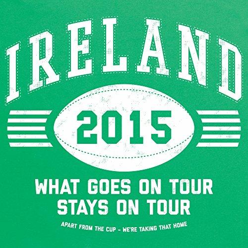 Ireland Tour 2015 Rugby T-Shirt, Herren Keltisch-Grn