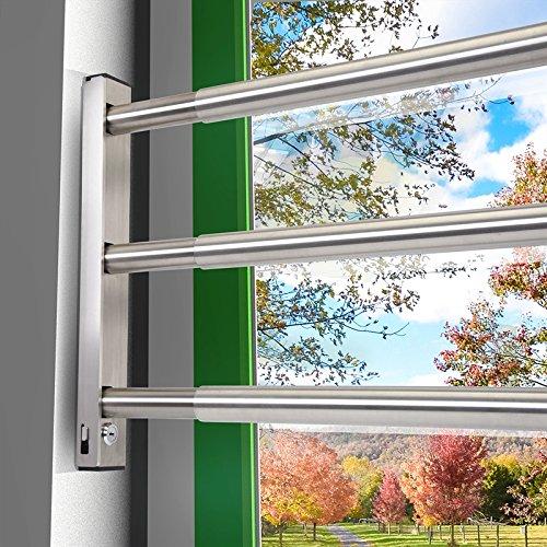 Spranga tripla antintrusione per porte e finestre 640 mm 1000 mm - Antintrusione casa ...