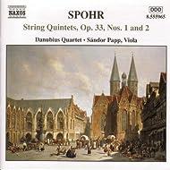 Spohr: String Quintets Op. 33, Nos. 1 And 2