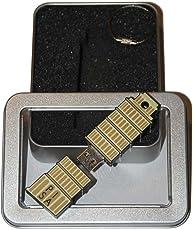 Souvenir Pisa | Geschenkidee: USB-Stick mit Schlüsselanhänger in Form des Schiefen Turms von Pisa für Frauen & Männer | Memory Stick 32 GB | CultourStix