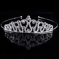 SimpleLife Fascia Nuziale del Pettine dei Capelli della Corona del diadema di Cristallo di Promenade dello Spettacolo…