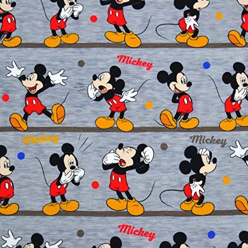MAGAM-Stoffe Mickey Mouse Balance Jersey Kinder Stoff Oeko-Tex Meterware 50cm (Kinder Jersey)