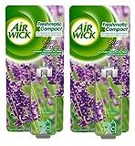 Air Wick Lufterfrischer Nachfüllpack für Freshmatic Compact, Duft: Lavendel, 24ml, 2 Stück