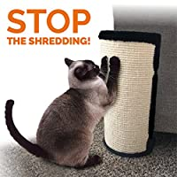 """PetLuv""""Stop The SHREDDING Cat Scratch & Claw Furniture Protector for Chairs, Sofas, Beds. Corner Scratcher - Protects Upholstery from Clawing, Scratching, Shredding 2 Pack Small Beige LC"""